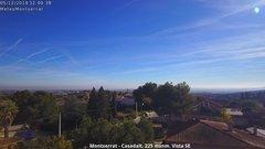 view from Montserrat - Casadalt (Valencia - Spain) on 2018-12-05