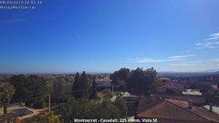 view from Montserrat - Casadalt (Valencia - Spain) on 2019-03-08