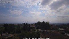 view from Montserrat - Casadalt (Valencia - Spain) on 2019-04-15