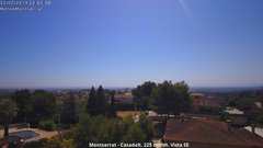 view from Montserrat - Casadalt (Valencia - Spain) on 2019-07-11