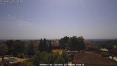 view from Montserrat - Casadalt (Valencia - Spain) on 2019-07-12