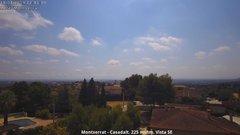 view from Montserrat - Casadalt (Valencia - Spain) on 2019-07-19