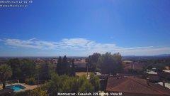view from Montserrat - Casadalt (Valencia - Spain) on 2019-08-08