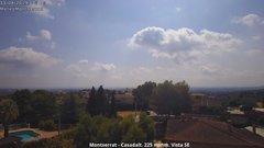 view from Montserrat - Casadalt (Valencia - Spain) on 2019-08-11