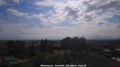 view from Montserrat - Casadalt (Valencia - Spain) on 2019-08-12
