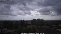 view from Montserrat - Casadalt (Valencia - Spain) on 2019-08-13
