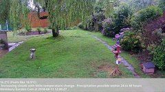 view from Wembury, Devon. Garden Cam on 2018-08-11