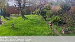 view from Wembury, Devon. Garden Cam on 2019-03-25