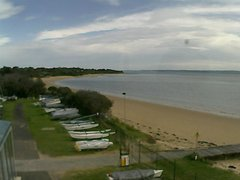 view from Cowes Yacht Club - West on 2018-08-03