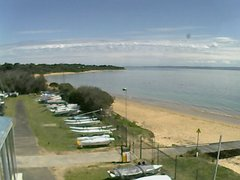 view from Cowes Yacht Club - West on 2018-10-07