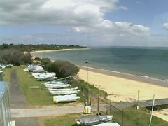 view from Cowes Yacht Club - West on 2018-10-10