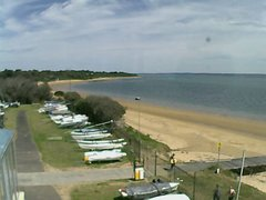 view from Cowes Yacht Club - West on 2018-10-14