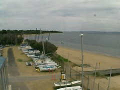 view from Cowes Yacht Club - West on 2019-02-06