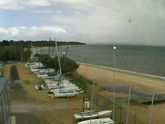 view from Cowes Yacht Club - West on 2019-02-09