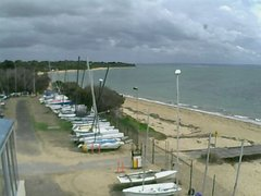 view from Cowes Yacht Club - West on 2019-04-08