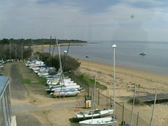 view from Cowes Yacht Club - West on 2019-04-15