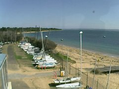 view from Cowes Yacht Club - West on 2019-04-19