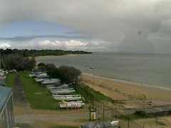 view from Cowes Yacht Club - West on 2019-08-12