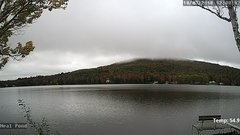 view from Neal Pond on 2018-10-03