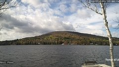 view from Neal Pond on 2018-10-17