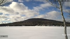 view from Neal Pond on 2018-12-05