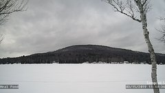 view from Neal Pond on 2019-03-15