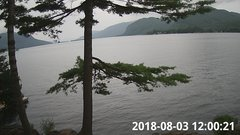 view from Bluffhead Hullets Landing, NY on 2018-08-03