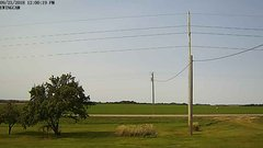 view from Ewing, Nebraska (west view)   on 2018-09-23