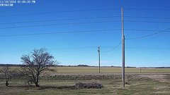 view from Ewing, Nebraska (west view)   on 2018-11-18