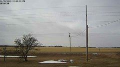view from Ewing, Nebraska (west view)   on 2019-01-28