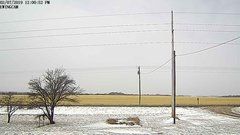 view from Ewing, Nebraska (west view)   on 2019-02-07