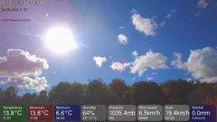 view from MeteoLive webcam SEREMANGE ERZANGE FR57 on 2018-09-24