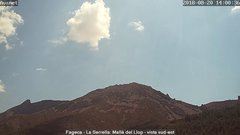 view from Fageca - El Comtat on 2018-08-20