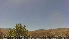 view from Horseshoe Bend, Idaho CAM2 on 2018-07-12