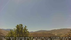 view from Horseshoe Bend, Idaho CAM2 on 2018-07-15
