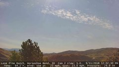view from Horseshoe Bend, Idaho CAM2 on 2018-09-11