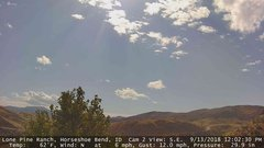 view from Horseshoe Bend, Idaho CAM2 on 2018-09-13