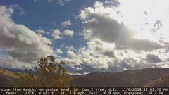 view from Horseshoe Bend, Idaho CAM2 on 2018-11-06