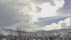 view from Horseshoe Bend, Idaho CAM2 on 2019-02-05