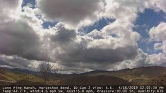 view from Horseshoe Bend, Idaho CAM2 on 2019-04-16