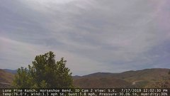 view from Horseshoe Bend, Idaho CAM2 on 2019-07-17