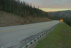 view from 4 - Highway 50 Road Conditions on 2018-07-16