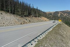 view from 4 - Highway 50 Road Conditions on 2018-09-15