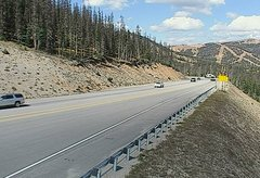 view from 4 - Highway 50 Road Conditions on 2018-09-18