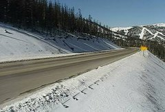 view from 4 - Highway 50 Road Conditions on 2018-11-09