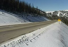 view from 4 - Highway 50 Road Conditions on 2018-11-10
