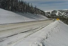 view from 4 - Highway 50 Road Conditions on 2019-02-08