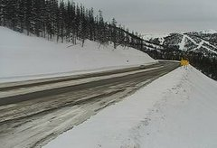 view from 4 - Highway 50 Road Conditions on 2019-02-09