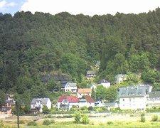 view from Webcam in Bad Schandau, Krippen & Postelwitz on 2018-07-30