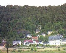 view from Webcam in Bad Schandau, Krippen & Postelwitz on 2018-08-05